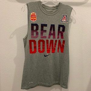 Nike Dri Fit Sleeveless Arizona Tee - Bear Down